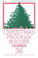 Christmas Program Builder, #36