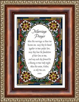 Marriage Prayer Framed Print