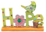 Hope Figurine with Bird