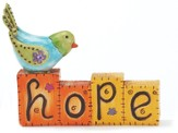 Hope Blocks Figurine
