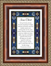 Jesus Christ, Framed Print