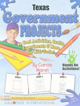 Texas Government Project Book, Grades K-5