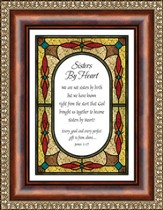 Sisters By Heart, James 1:17 Framed Print