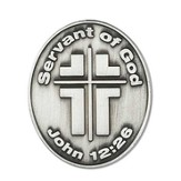 Servant of God Pocket Stone
