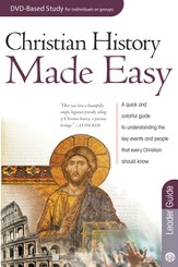 Christian History Made Easy Leader Guide - eBook
