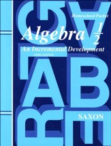 Saxon Algebra 1/2 Answer Key & Test Forms, 3rd Edition
