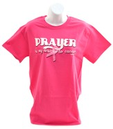 Prayer Ribbon Shirt, Pink, Medium