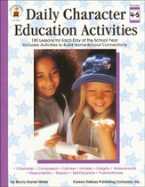 Daily Character Education Activities Gr 4-5
