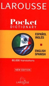 Larousse Pocket Dictionary: Spanish-English/English-Spanish