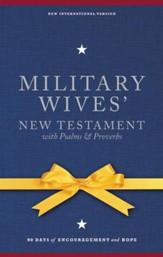 NIV Military Wives' New Testament with Psalms and Proverbs, Hardcover, Jacketed Printed - Slightly Imperfect