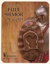 Full Armor of God Pocket Stone, Helmet