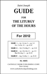 Saint Joseph Guide for the Liturgy of the Hours (2012)
