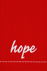 Hope, Christmas Decorative Towel