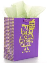 Safe and Secure, Medium Gift Bag