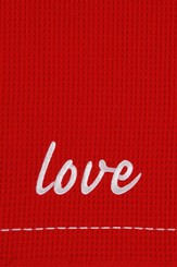 Love, Christmas Decorative Towel