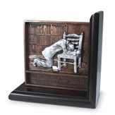 Praying Man Bookend
