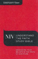 NIV Understand the Faith Study Bible, hardcover