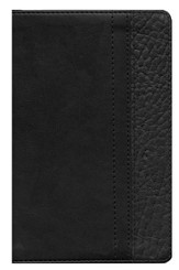 NIV ReadEasy Bible, Compact, Italian Duo-Tone, Black/Black - Imperfectly Imprinted Bibles