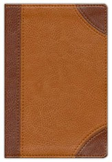 NIV Pocket Bible, Italian Duo-Tone, Dark Caramel/Caramel