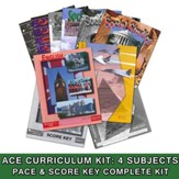 ACE Core Curriculum (4 Subjects), Single Student Complete PACE & Score Keys Kit, Grade 12, 3rd Edition