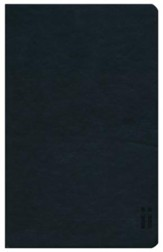 KJV Skinii Bible, Leather Bound, Black