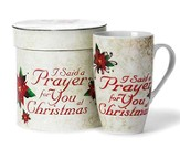 I Said a Prayer at Christmas Mug