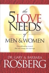 5 Love Needs of Men and Women