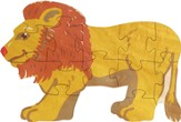 Lion, Wooden Puzzle, 12 Pieces