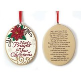 I Said a Prayer for You at Christmas Ornament