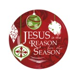 Jesus is the Reason for the Season Plate