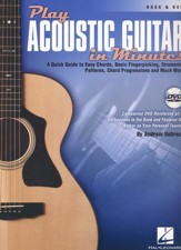 Play Acoustic Guitar in Minutes Book/DVD