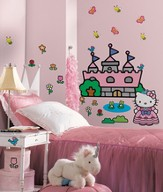 Hello Kitty, Vinyl Wall Stickers, Large