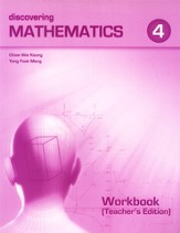 Discovering Mathematics Workbook 4 Teacher's Edition