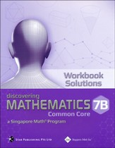 Discovering Mathematics Workbook Solutions 7B (Common Core State Standards Edition)