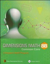 Dimensions Math Textbook 8B