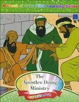 The Apostles Doing Ministry Coloring Book