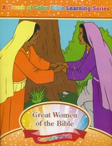 Great Women of the Bible Coloring Book