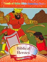 Biblical Heroes Coloring Book