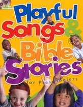 Playful Songs & Bible Stories for Preschoolers--Book and CDs