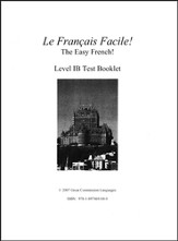 Le Francais Facile! Test Book 1B