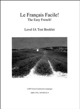 Le Francais Facile! Test Book Level 1A