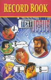 Text Jesus VBS Record Book