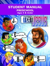 Text Jesus VBS Preschool Student Manual