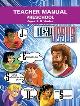 Text Jesus VBS Preschool Teacher Manual