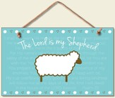 The Lord is My Shepherd Wood Sign
