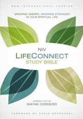 NIV Life Connect Study Bible, hardcover