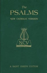The Psalms: New Catholic Version (St. Joseph Edition)  - Slightly Imperfect