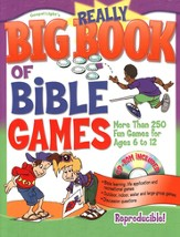 The Really Big Book of Bible Games with CD-ROM  - Slightly Imperfect