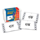 Hot Dots Division Flash Cards