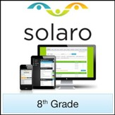 SOLARO: Grade 8, 3-Course Bundle (Access Code)
